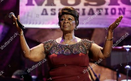 Irma Thomas performs during the Americana Honors and Awards show, in Nashville, Tenn