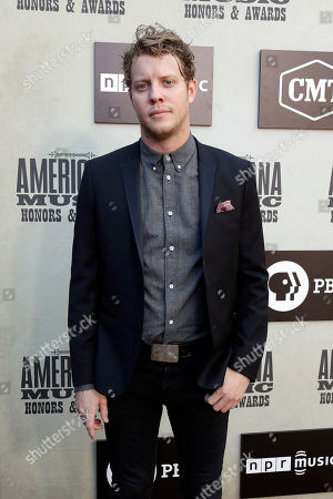 Anderson East arrives at the Americana Honors and Awards show, in Nashville, Tenn