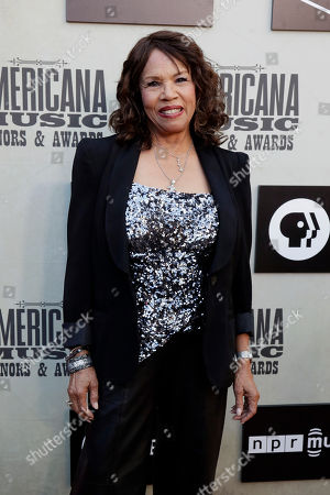 Candi Staton arrives at the Americana Honors and Awards show, in Nashville, Tenn