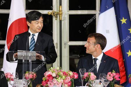 Crown Prince Naruhito visit to France