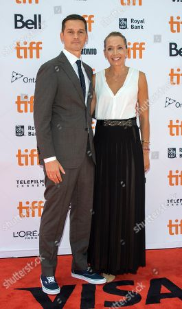 US director Jeremy Saulnier (L) and his wife Skei (R) arrive for the screening of the movie 'Hold The Dark' during the 43rd annual Toronto International Film Festival (TIFF) in Toronto, Canada, 12 September 2018.