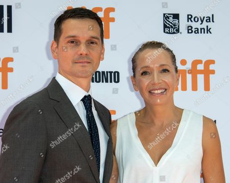 US director Jeremy Saulnier and his wife Skei arrive for the screening of the movie 'Hold The Dark' during the 43rd annual Toronto International Film Festival (TIFF) in Toronto, Canada, 12 September 2018.