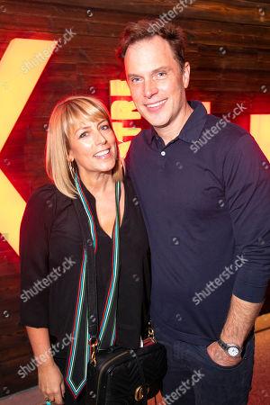 Fay Ripley and Daniel Lapaine (Sam)