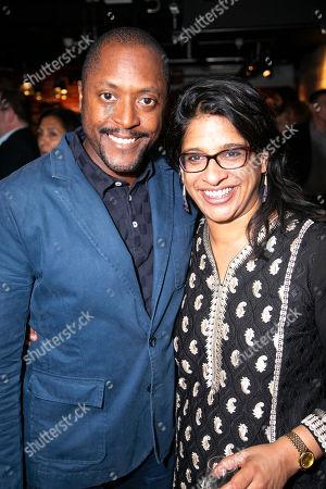 Matt Henry and Indhu Rubasingham (Director)