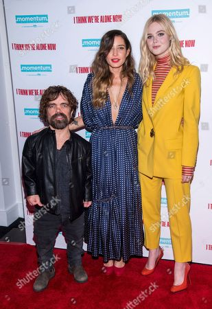 """Editorial photo of NY Special Screening of """"I Think We're Alone Now"""", New York, USA - 12 Sep 2018"""