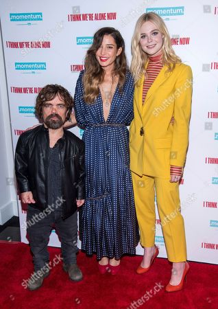 """Editorial picture of NY Special Screening of """"I Think We're Alone Now"""", New York, USA - 12 Sep 2018"""