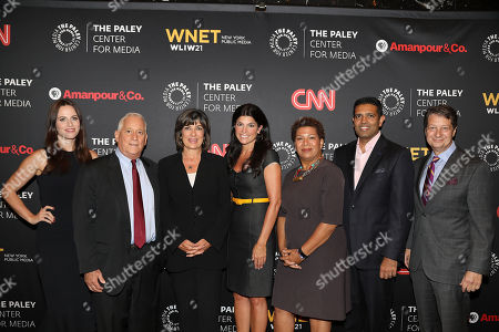 Editorial picture of Paley Center for Media Presents - 'Amanpour & Co', New York, USA - 12 Sep 2018
