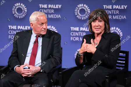 Walter Isaacson and Christiane Amanpour