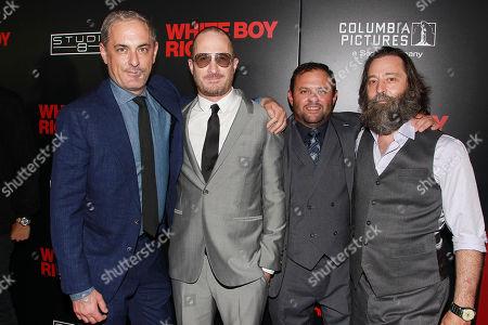 "Editorial photo of The New York Red Carpet Special Screening of ""White Boy Rick"" - Film Stars Matthew McConaughey and Richie Merritt, USA - 12 Sep 2018"