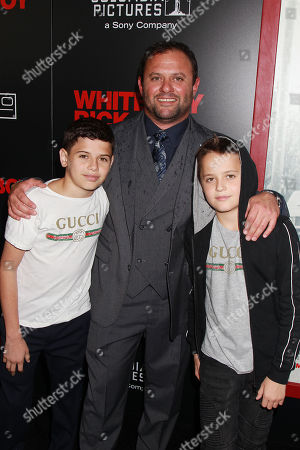 Scott Franklin with Children