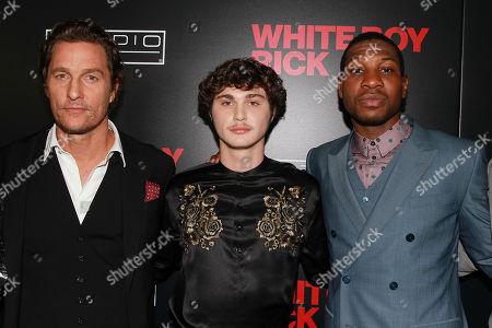 Matthew McConaughey, Richie Merritt, Jonathan Majors