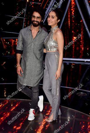 Indian film actress Shraddha Kapoor and Shahid Kapoor