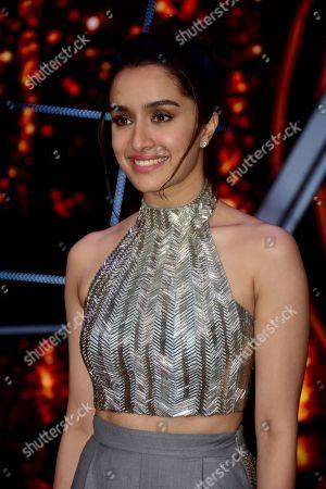Indian film actress Shraddha Kapoor