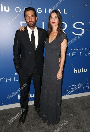 Editorial photo of 'The First' TV show premiere, Arrivals, Los Angeles, USA - 12 Sep 2018