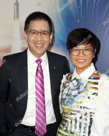 Stock Picture of Scott Takeda, Keiko Agena