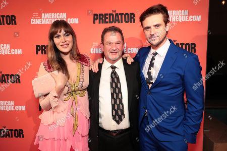 Stock Photo of Tatiana Pajkovic, Don Holbrook, Boyd Holbrook