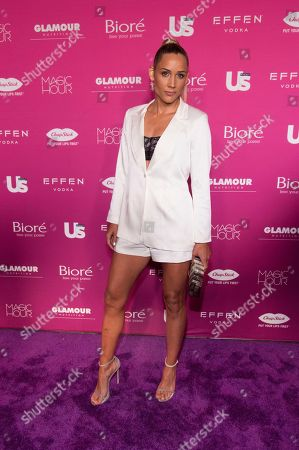 Lolo Jones attends Us Weekly's Most Stylish New Yorkers of 2018 party at Magic Hour Rooftop Bar and Lounge on in New York