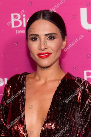 Andi Dorfman attends Us Weekly's Most Stylish New Yorkers of 2018 party at Magic Hour Rooftop Bar and Lounge on in New York