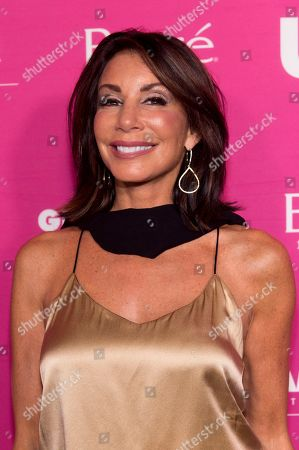 Stock Image of Danielle Staub attends Us Weekly's Most Stylish New Yorkers of 2018 party at Magic Hour Rooftop Bar and Lounge on in New York