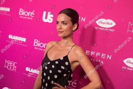 Stock Photo of Torrey DeVito attends Us Weekly's Most Stylish New Yorkers of 2018 party at Magic Hour Rooftop Bar and Lounge on in New York