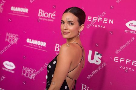 Torrey DeVito attends Us Weekly's Most Stylish New Yorkers of 2018 party at Magic Hour Rooftop Bar and Lounge on in New York