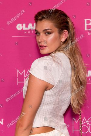 Shayna Taylor attends Us Weekly's Most Stylish New Yorkers of 2018 party at Magic Hour Rooftop Bar and Lounge on in New York