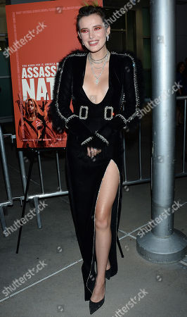 Editorial photo of 'Assassination Nation' film premiere, Arrivals, Los Angeles, USA - 12 Sep 2018