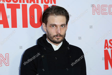 """Sam Levinson arrives at the LA Premiere of """"Assassination Nation"""" at the ArcLight Hollywood, in Los Angeles"""