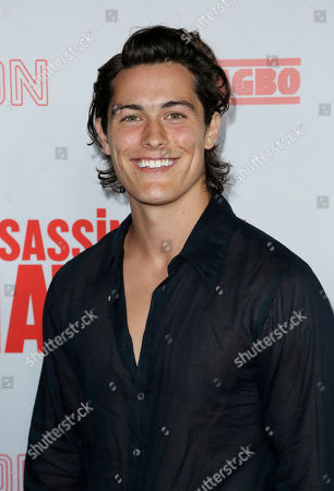 """Wolfgang Novogratz arrives at the LA Premiere of """"Assassination Nation"""" at the ArcLight Hollywood, in Los Angeles"""
