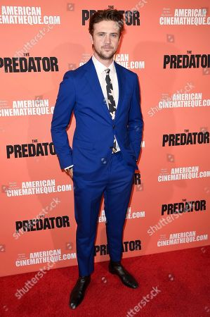 """Boyd Holbrook attends a special screening of """"The Predator"""" at Grauman's Egyptian Theatre, in Los Angeles"""