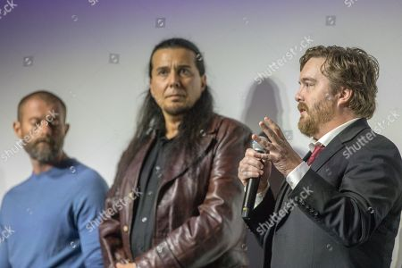 James Badge Dale, Julian Black Antelope, Macon Blair.