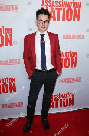 """Stock Image of Ian Hultquist arrives at the LA Premiere of """"Assassination Nation"""" at the Arclight Hollywood, in Los Angeles"""