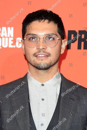 Actor/cast member Augusto Aguilera at the screening of 20th Century Fox's 'The Predator,' at the Egyptian Theatre in Los Angeles California, USA, 12 September 2018. The film opens in the US 9 February 2018.