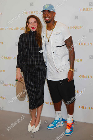 Editorial image of Jerome Boateng shopping Event at Oberpollinger, Munich, Germany - 12 Sep 2018