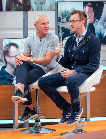 Jamie Laing and Francis Boulle