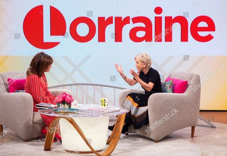 Lorraine Kelly and Lisa Maxwell