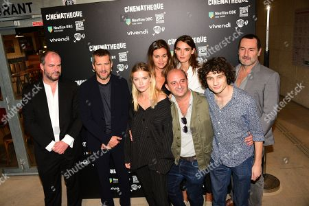 Stock Photo of Cedric Anger, Guillaume Canet, Camille Razat, Jean Louis Barcelona, Valeria Nicov, Elisa Bachir Bey, Quentin Dolmaire, Gilles Lellouche