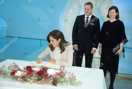 Editorial picture of Danish Crown Princess Mary visits Helsinki, Finland - 13 Sep 2018