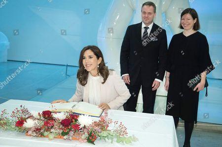 Editorial photo of Danish Crown Princess Mary visits Helsinki, Finland - 13 Sep 2018