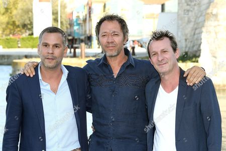Jury members Jean-Benoit Gillig, Bruno Debrandt and Christophe Lamotte
