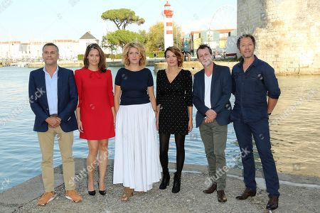 Editorial photo of Jury photocall, La Rochelle TV Fiction Festival, France - 12 Sep 2018