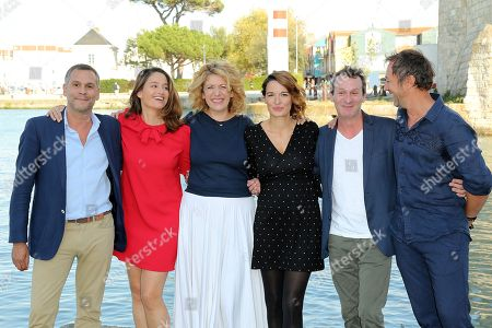 Editorial picture of Jury photocall, La Rochelle TV Fiction Festival, France - 12 Sep 2018