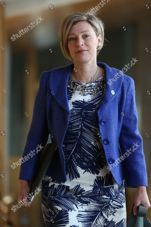 Editorial image of Scottish Parliament First Minister's Questions, The Scottish Parliament, Edinburgh, Scotland, UK - 13th September 2018
