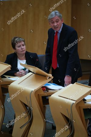 Editorial photo of Scottish Parliament First Minister's Questions, The Scottish Parliament, Edinburgh, Scotland, UK - 13th September 2018