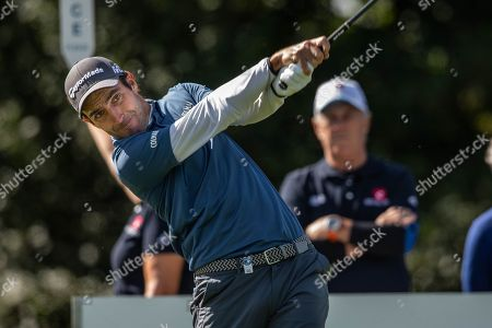 Edoardo Molinari of Italy in action during the first day of the KLM Open golf tournament in Spijk, The Netherlands, 13 September 2018.