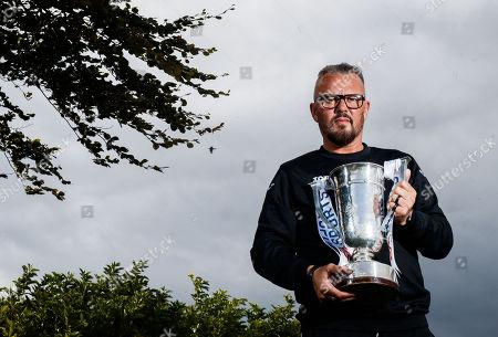Cobh Ramblers' manager Stephen Henderson