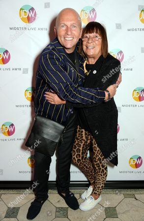 Stock Photo of Nicky Johnston and Hilary Alexander