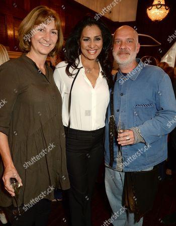 Guest, Lady Wilnelia Merced and Uwe Herzstein