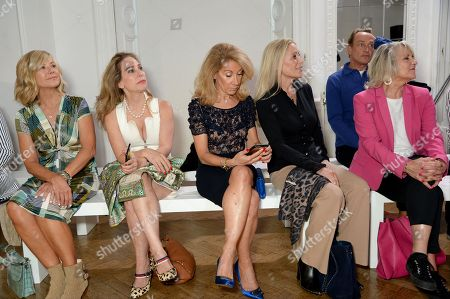 Glynis Barber, Guest, Aliza Reger, Angie Best and Nina Myskow