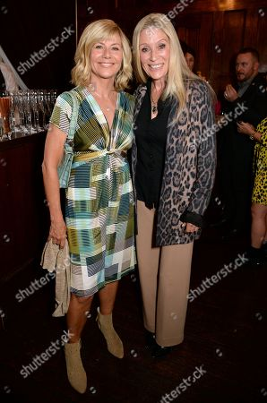 Stock Image of Glynis Barber and Angie Best